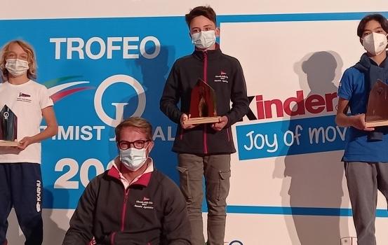 FRANCESCO CARRIERI VINCE IL TROFEO OPTIMIST ITALIA KINDER JOY OF MOVING SQUADRA LASER CONQUISTA TUTTO NELLO ZONALE A GALLIPOLI E OGGI PARTE PER L'ITALIA CUP A NAPOLI  29ER IN TRASFERTA A RIVA DEL GARDA PER L'EUROPEO