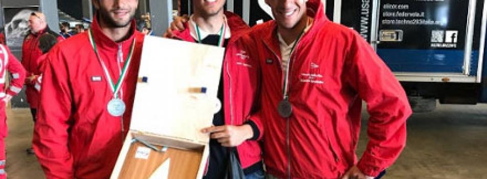 Ciro Basile campione nazionale Laser Standard al campionato italiano classi olimpiche 2018 a Genova