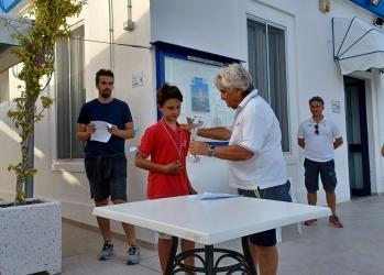 FRANCESCO CARRIERI PRIMO ALLA TERZULTIMA TAPPA DELLO ZONALE OPTIMIST A MONOPOLI