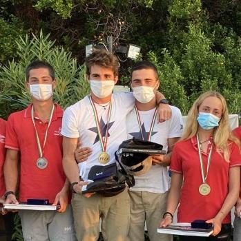 Grande podio per i 29er del Circolo Vela Bari al Campionato Italiano di Punta Ala