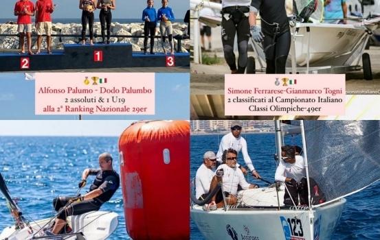 Week end di successi per il Circolo della Vela Bari