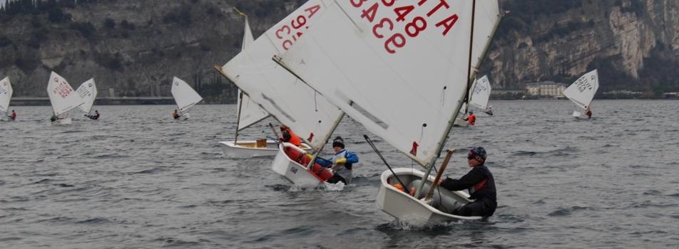 Il giovanissimo Francesco Carrieri è già nel gruppo GAN (Gruppo Agonistico Nazionale)classe optimist.
