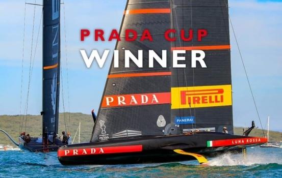 Luna Rossa conquista la Prada Cup! Doppio orgoglio per il Circolo della Vela.